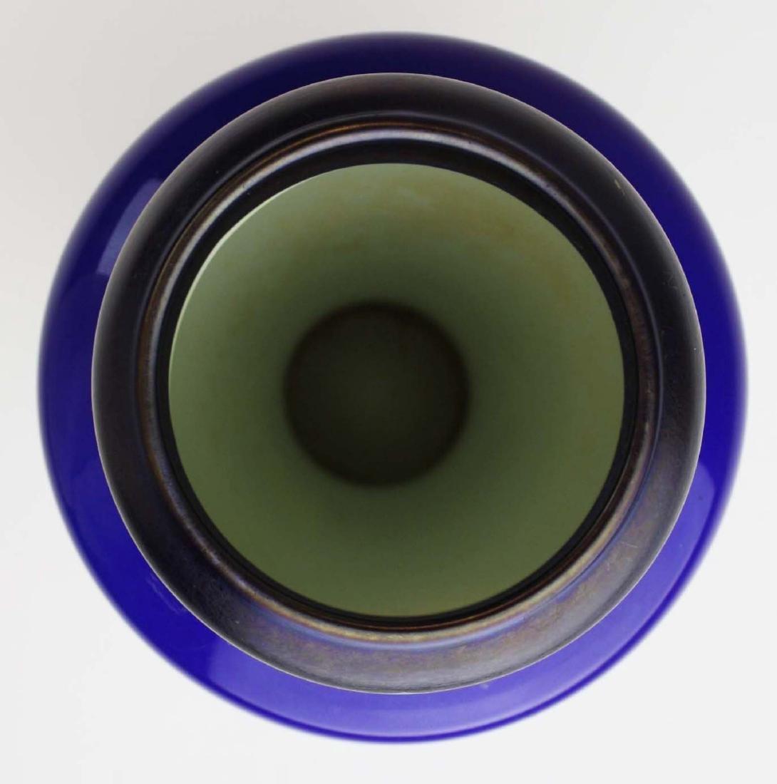rare Tiffany Tel-el-amarna Favrile glass vase - 4