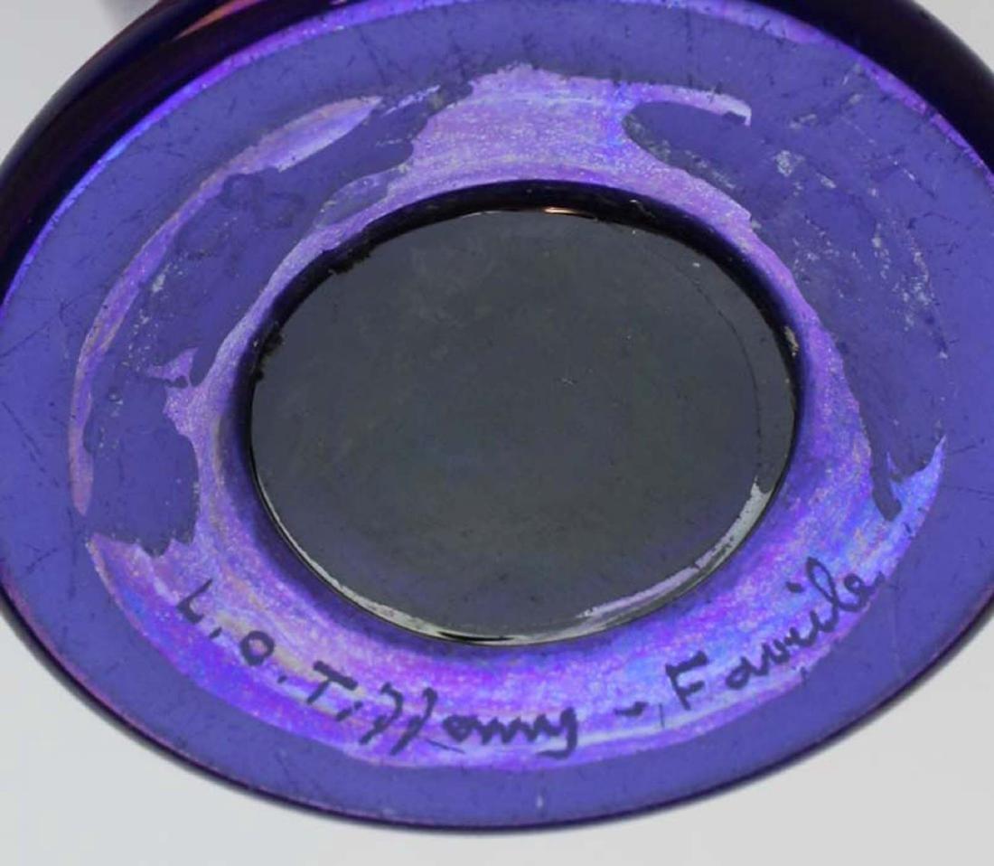 rare Tiffany Tel-el-amarna Favrile glass vase - 5