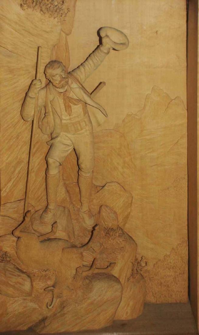 ca 1900 German Black Forest carving by Ernst Steiner - 2