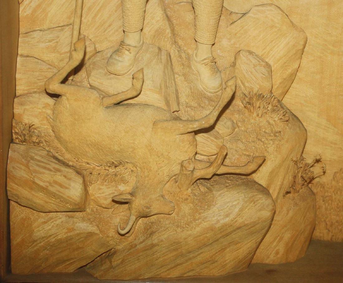 ca 1900 German Black Forest carving by Ernst Steiner - 3