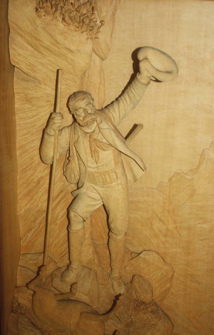 ca 1900 German Black Forest carving by Ernst Steiner - 4