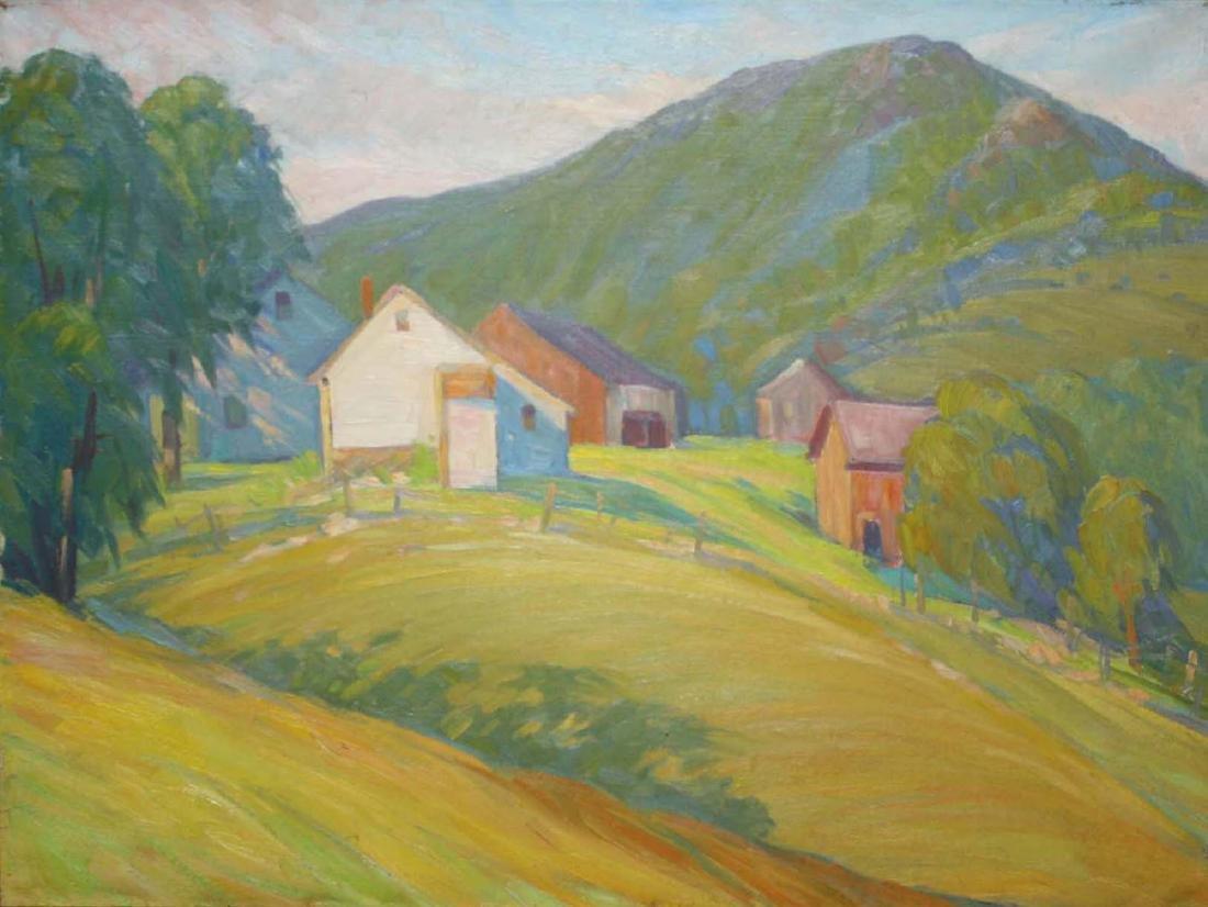 Elwyn George Gowen (American 1895-1954) Tinmouth - 2