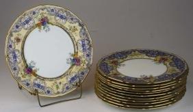 12 Royal Doulton bone china porcelain dinner plates