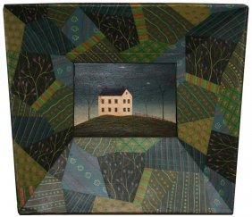 Warren Kimble (Vermont 1935-) Landscape with house