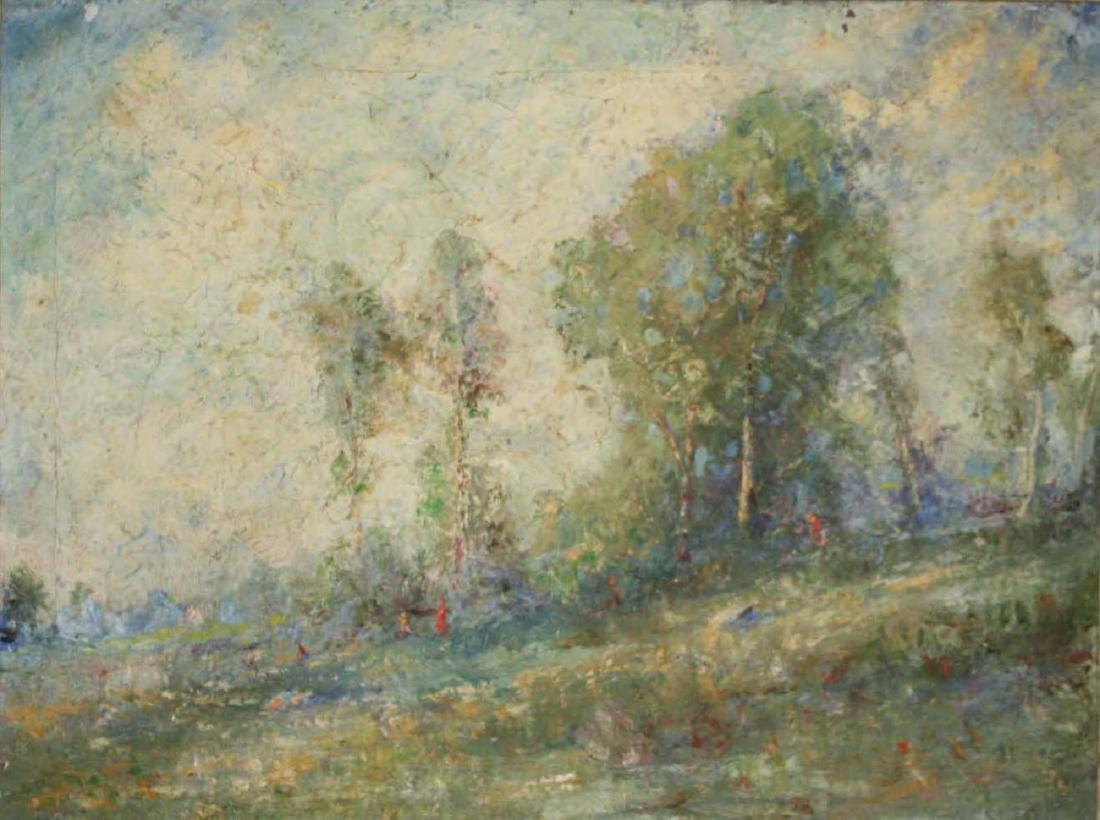 French School circa 1900 impressionist landscape - 2