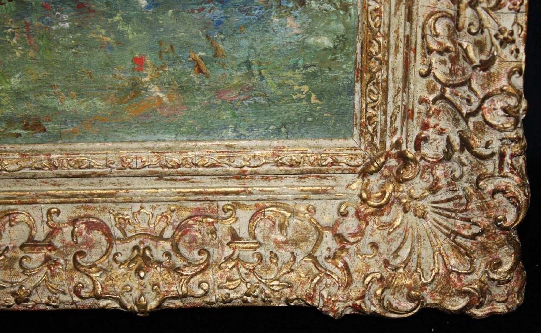 French School circa 1900 impressionist landscape - 4