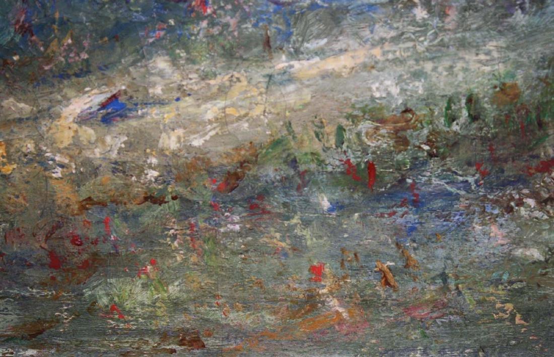 French School circa 1900 impressionist landscape - 5