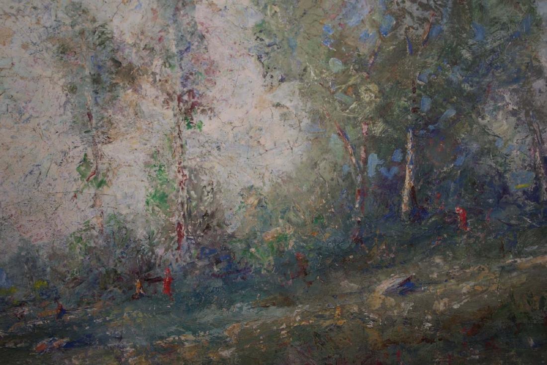 French School circa 1900 impressionist landscape - 6
