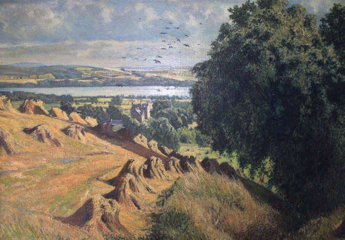 James McIntosh Patrick (UK 1907-1998) Harvest Lanscape - 3