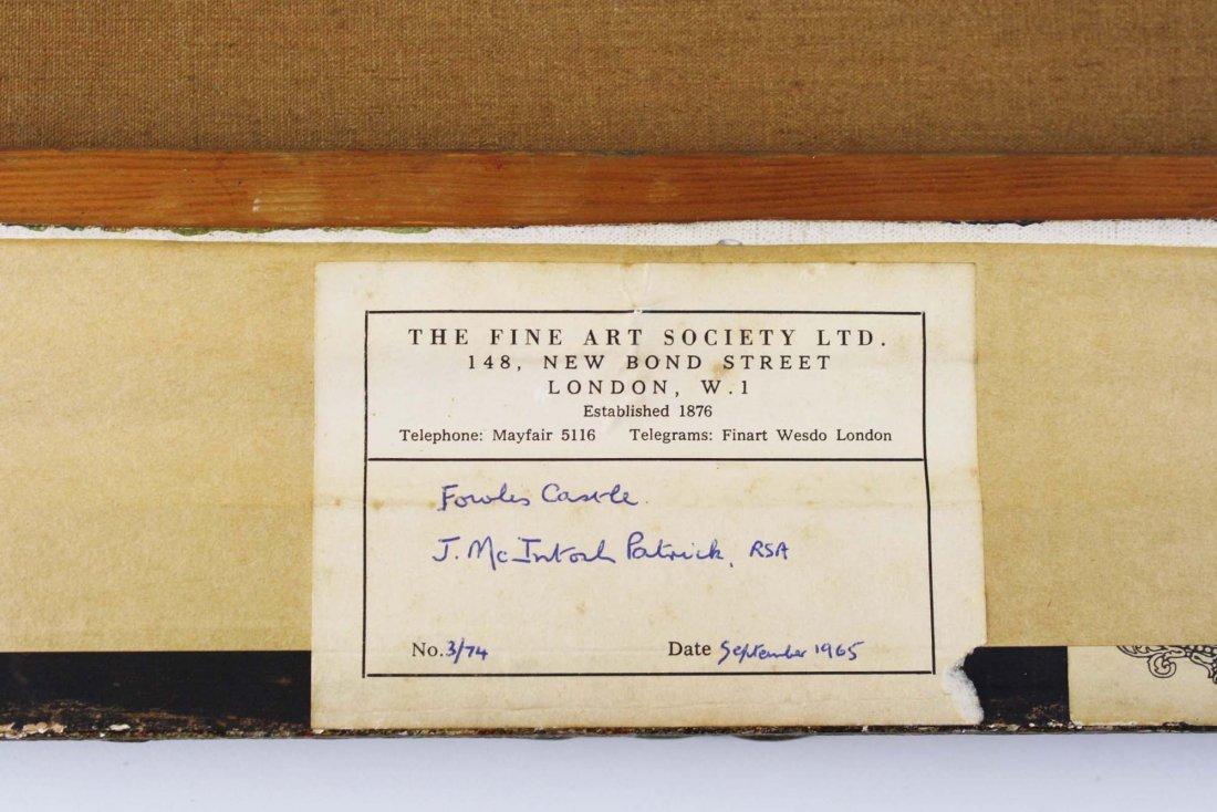 James McIntosh Patrick (UK 1907-1998) Harvest Lanscape - 7