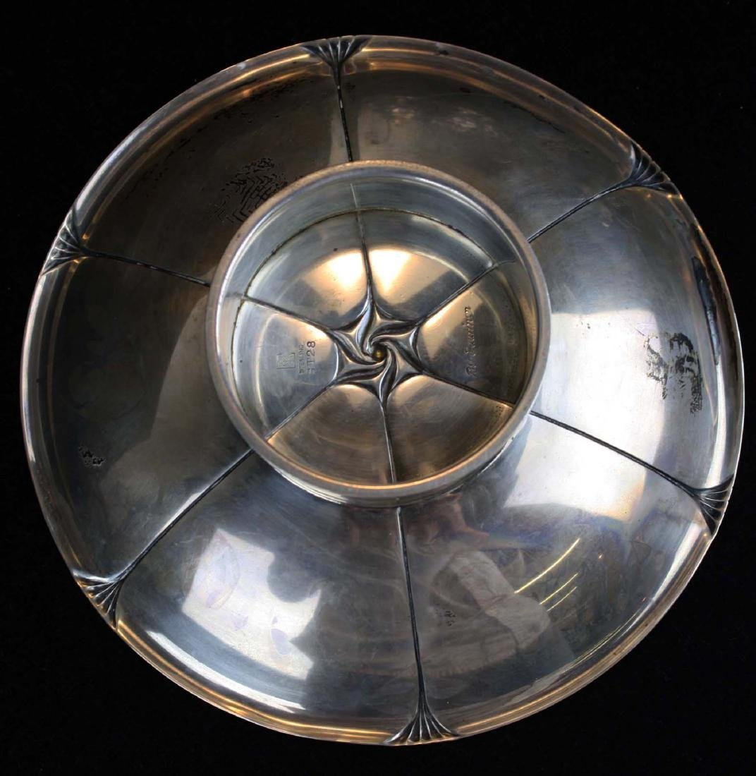 rare Eliel  Saarinen design Art Deco  sterling silver - 4