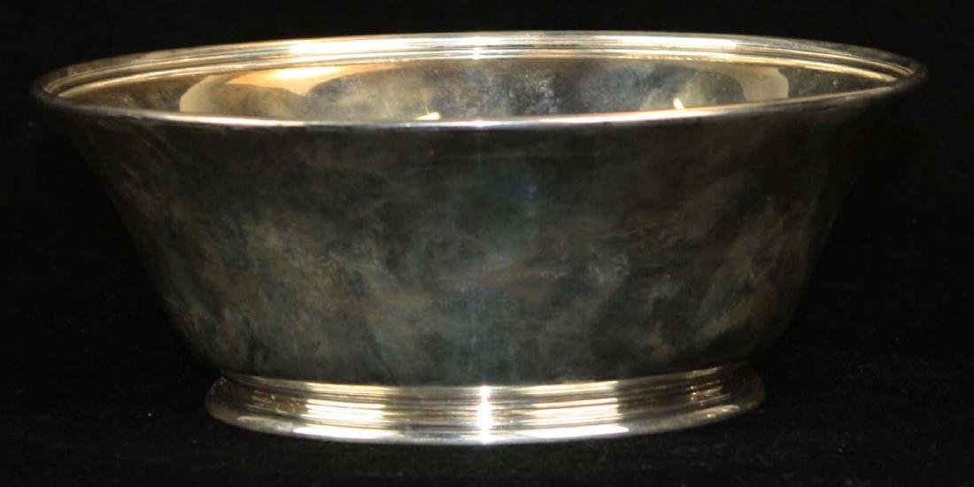 Tiffany & Co. American sterling silver footed bowl