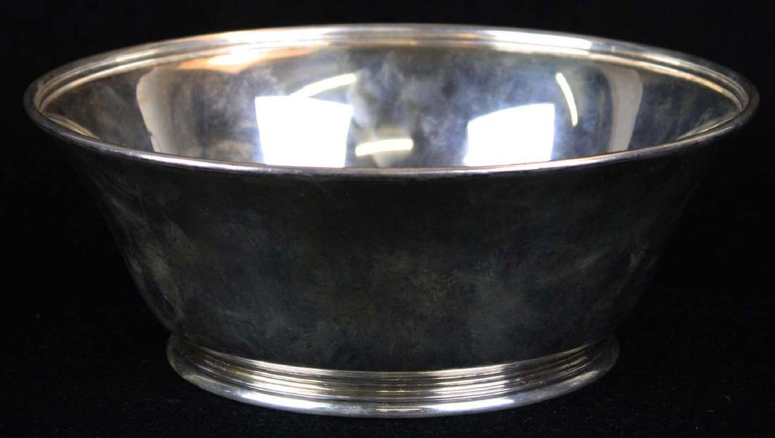 Tiffany & Co. American sterling silver footed bowl - 3