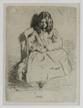 James Abbott McNeill Whistler (American 1834-1903)