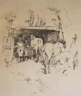 James Abbott McNeill Whistler (American 1834-1903) The