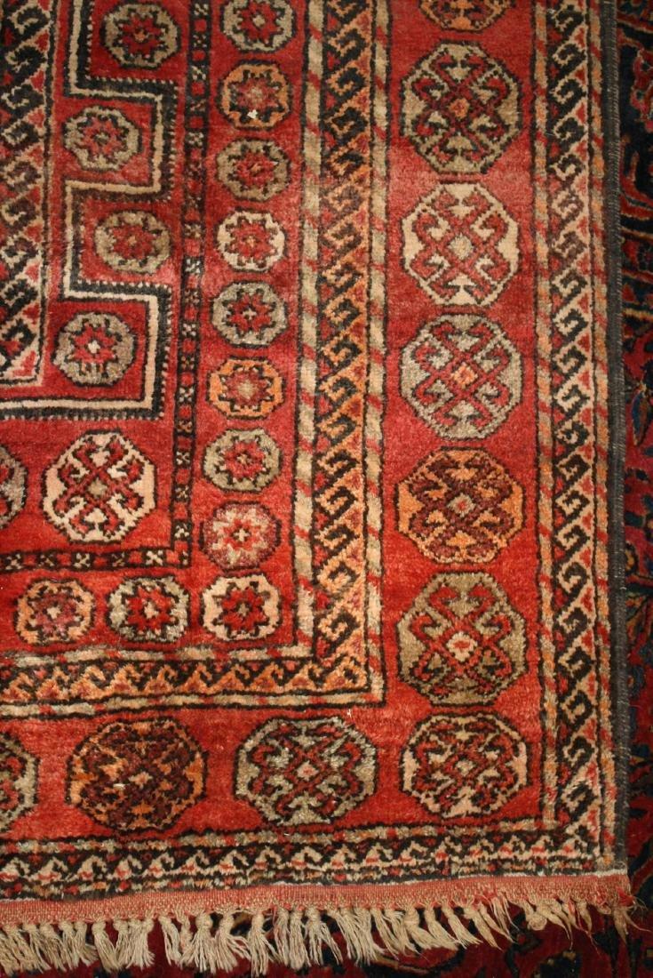 early- mid 20th c Persian 3 medallion main carpet - 2