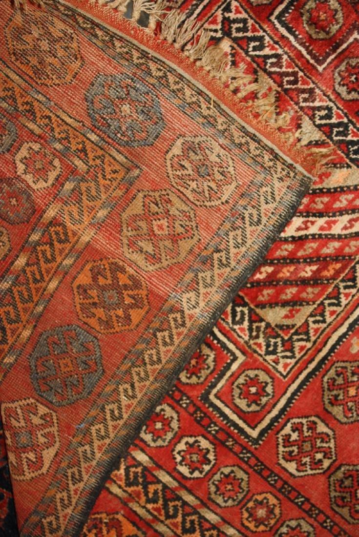 early- mid 20th c Persian 3 medallion main carpet - 3