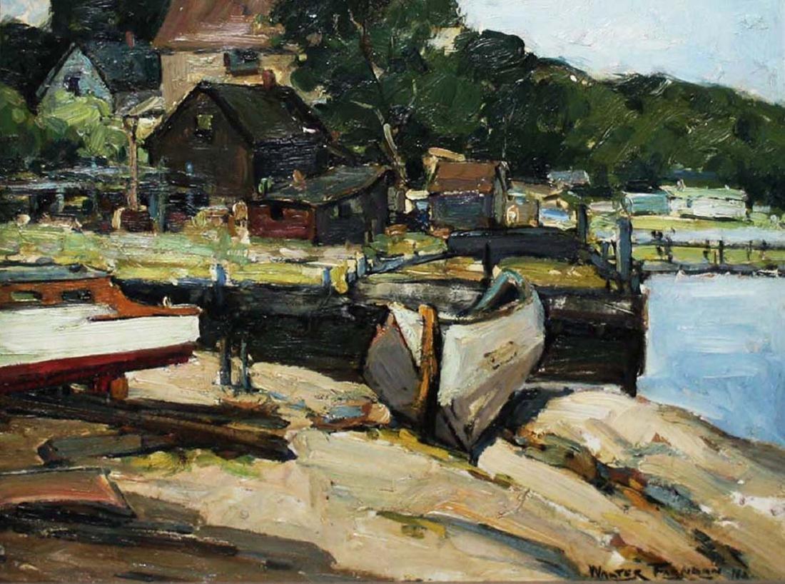 Walter Farndon (American 1876-1964) Rusty Road