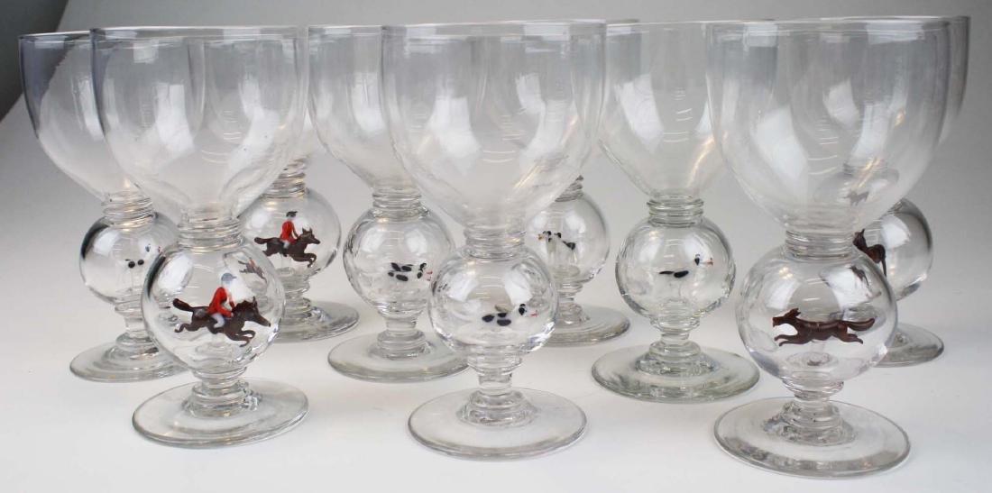 9 Bimini Werkstatte Austrian double bubble stem wine - 9