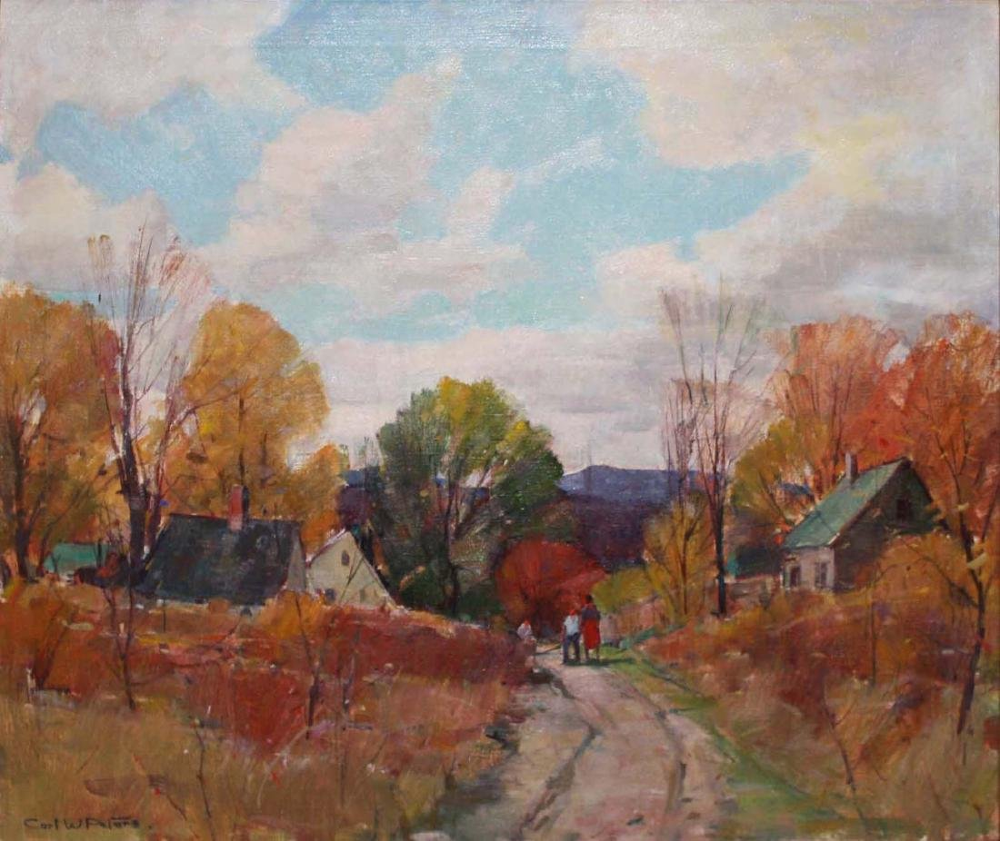 Carl William Peters (American 1897-1980) Country Road