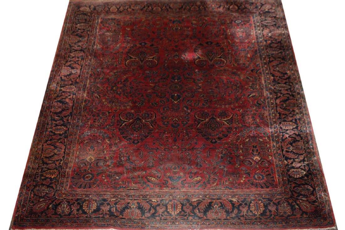 early- mid 20th c Sarouk main carpet