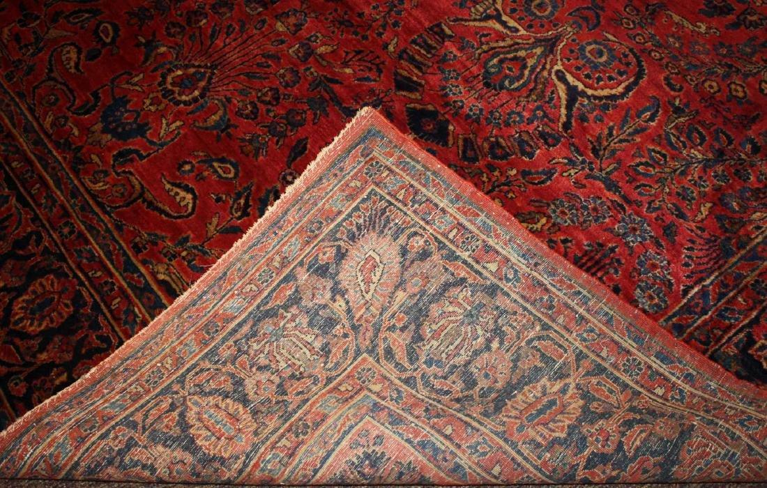 early- mid 20th c Sarouk main carpet - 2
