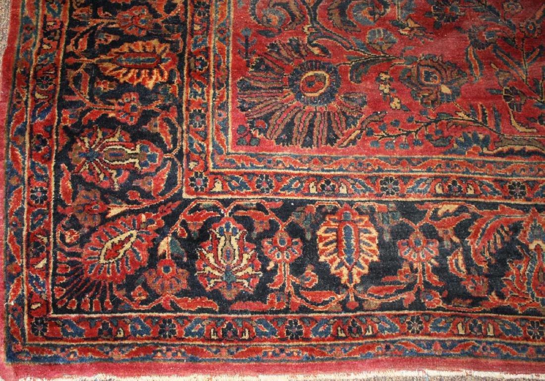 early- mid 20th c Sarouk main carpet - 3