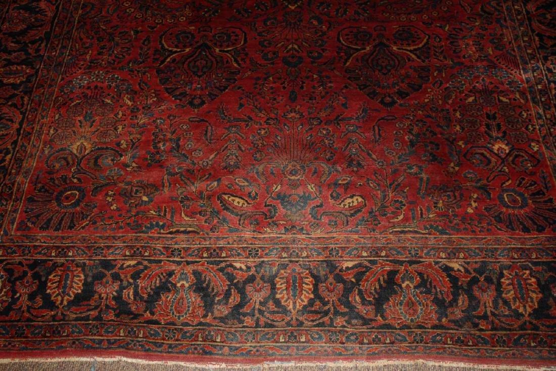 early- mid 20th c Sarouk main carpet - 4