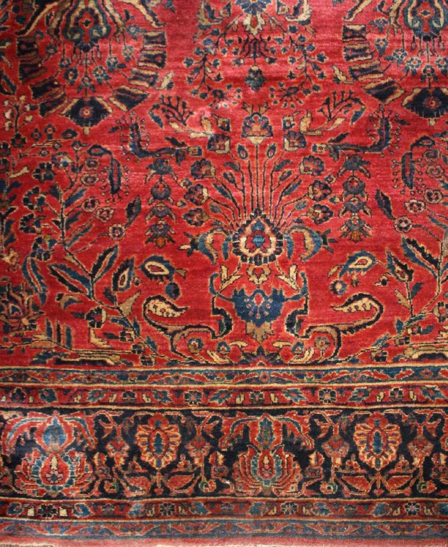early- mid 20th c Sarouk main carpet - 5