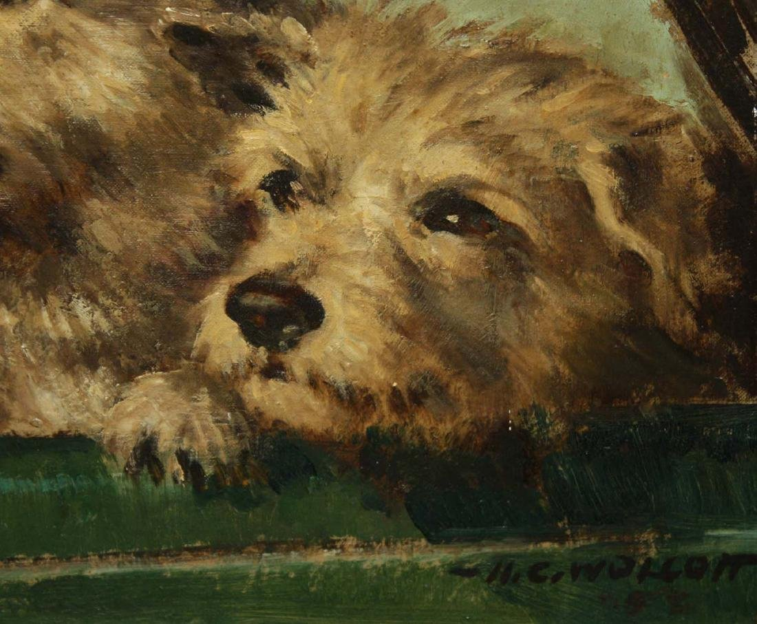 Harold C. Wollcott (American 1898-1977) Three Terriers - 3