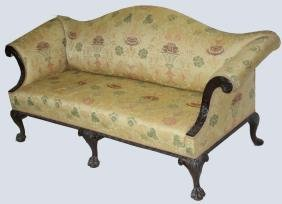 Irish Chippendale Style Sofa
