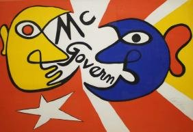 Alexander Calder (American 1898-1976) Mc Govern