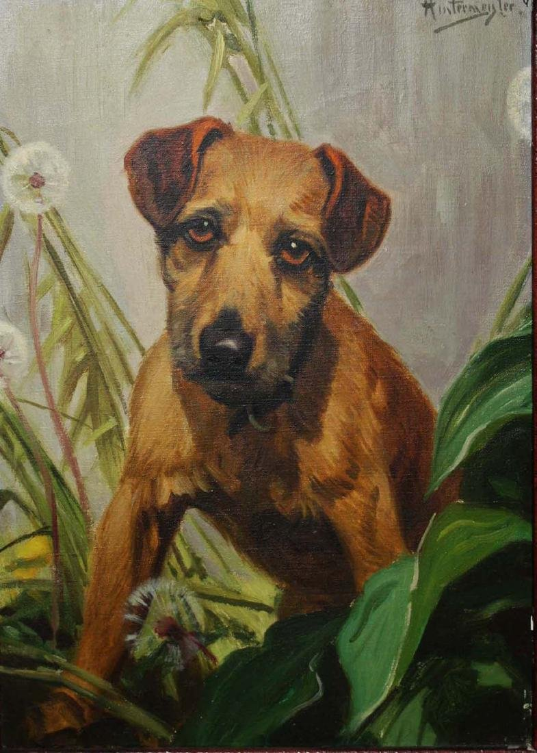 Henry Hintermiester (American 1897-1970) Terrier with