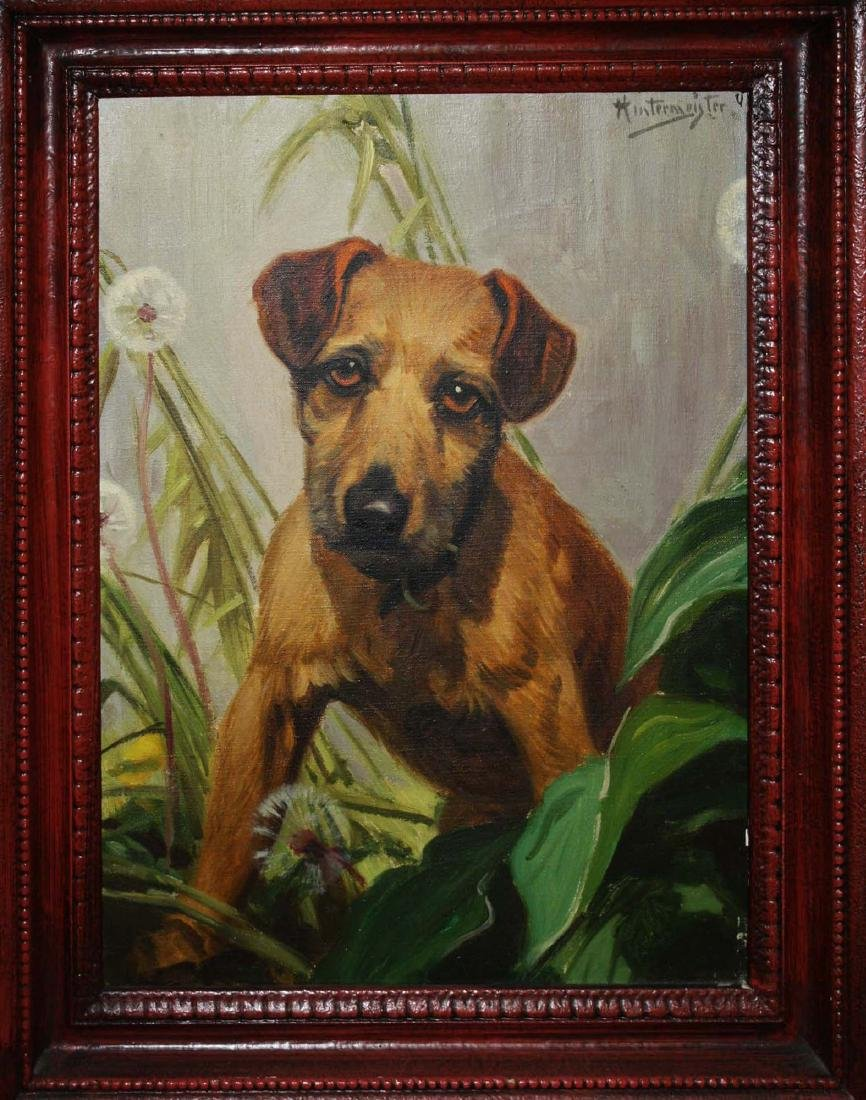 Henry Hintermiester (American 1897-1970) Terrier with - 2