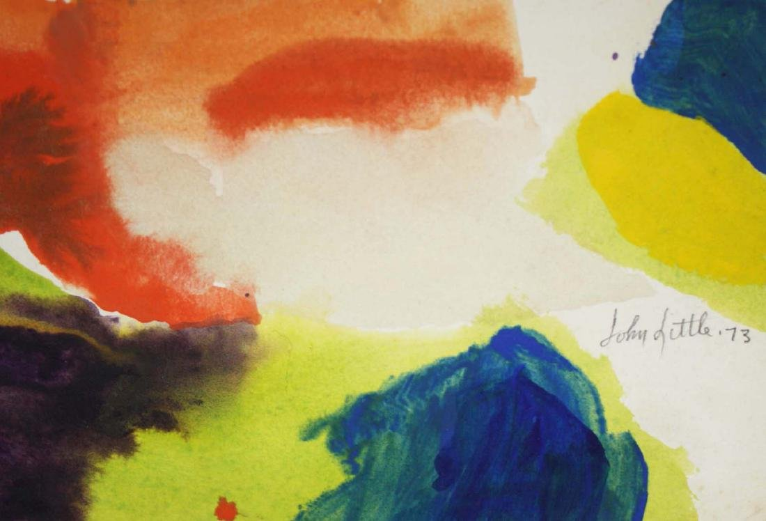 John Little (American 1907-1984) Untitled Watercolor - 2