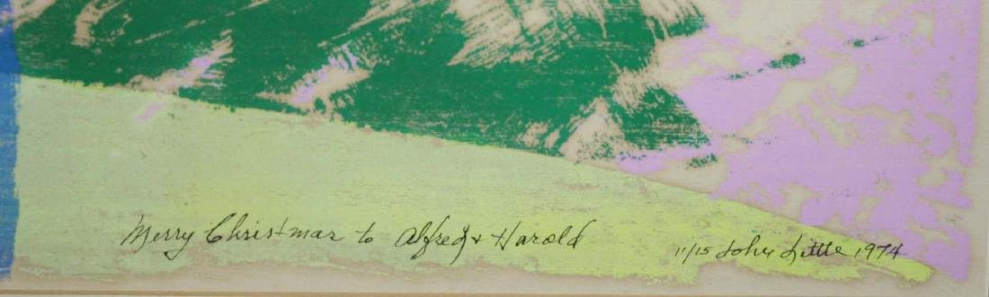 John Little (American 1907-1984) Untitled woodblock - 3