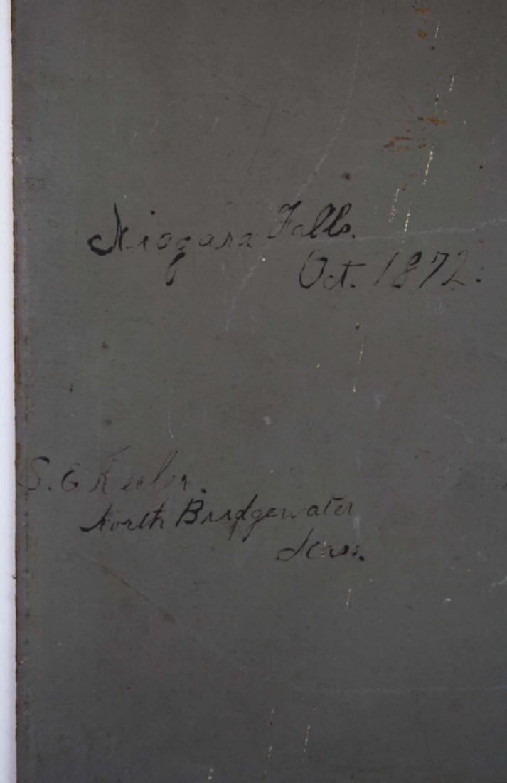 S E Keeler North Bridgewater MA, - Niagra Falls October - 3