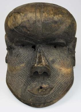 early- mid 20th c Papua/ New Guinea tribal mask