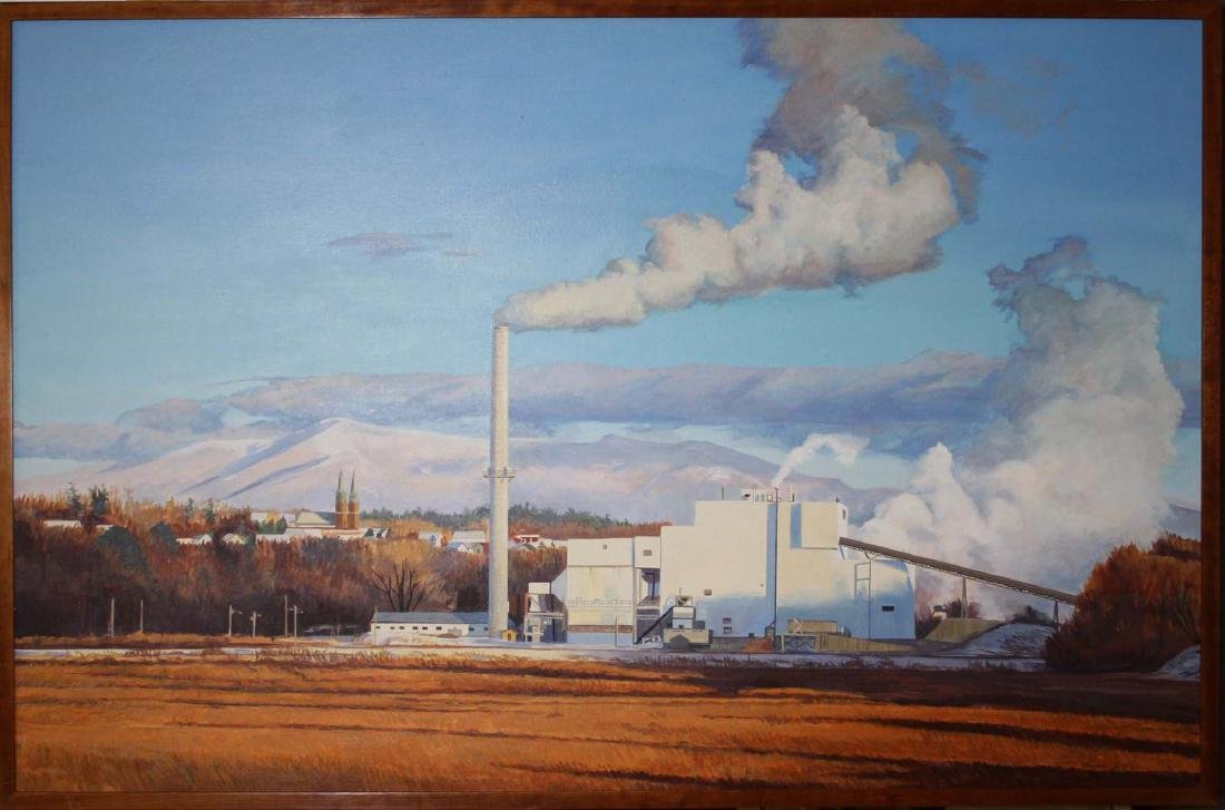 Jeanette Chupack (Vermont 20th c) McNeil Plant, With