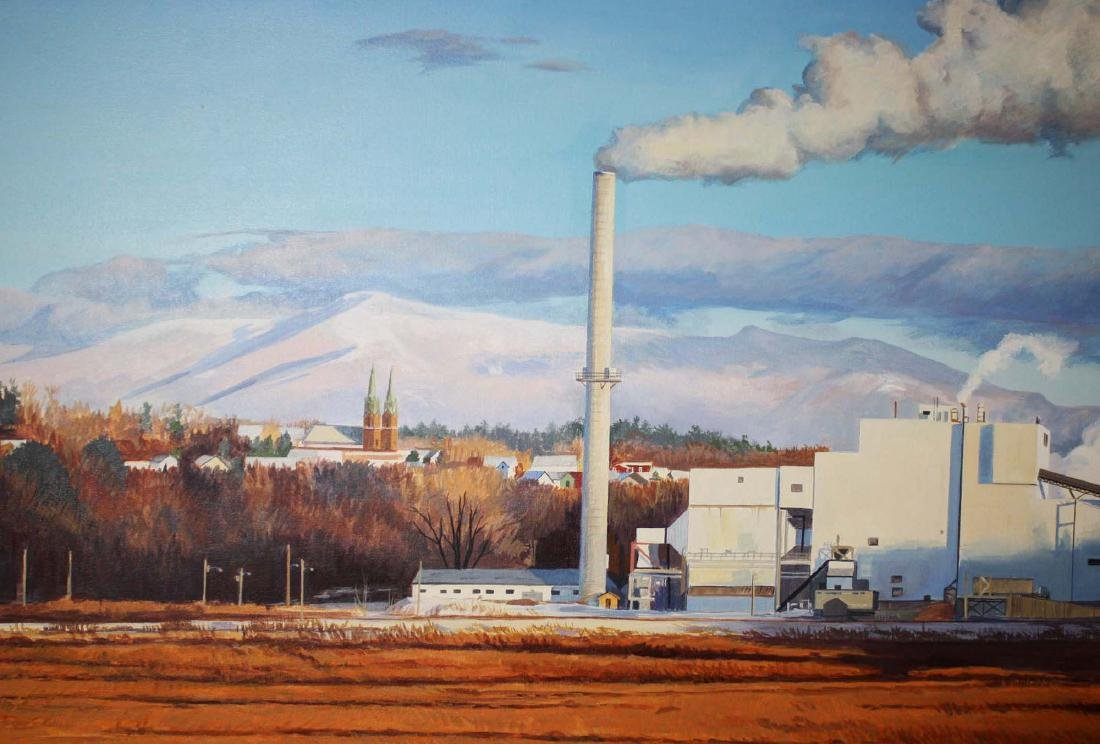 Jeanette Chupack (Vermont 20th c) McNeil Plant, With - 3