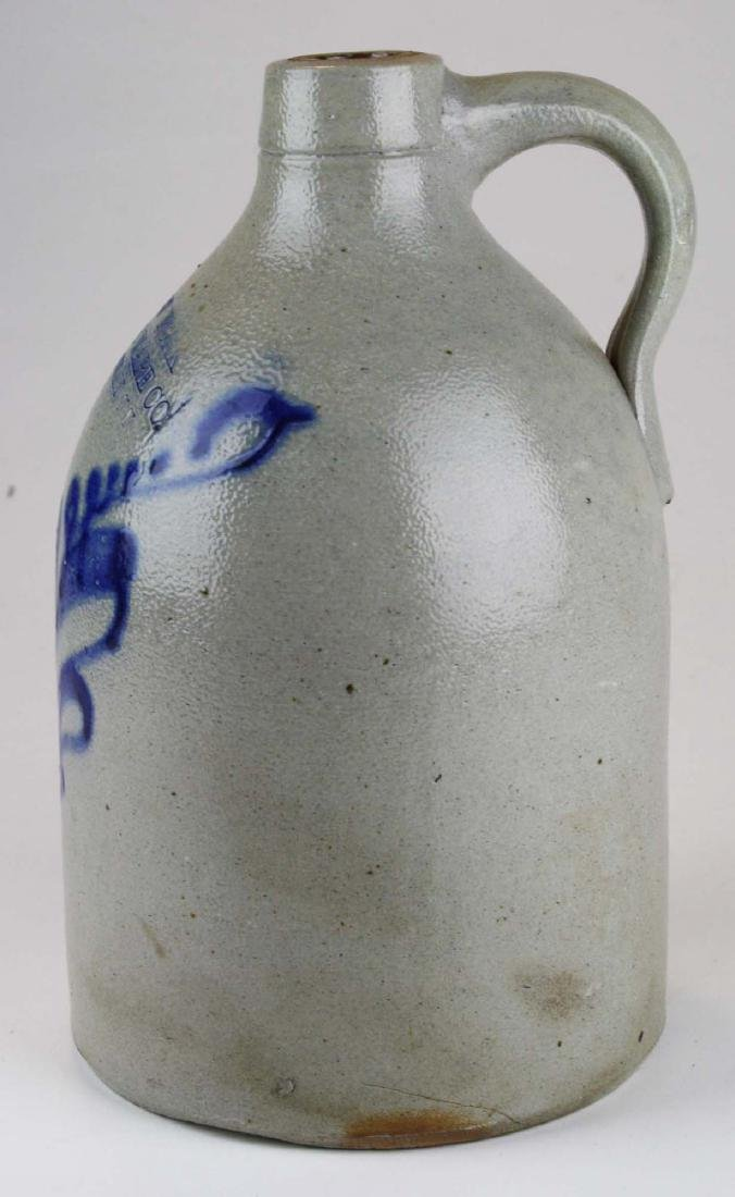 late 19th c New York Stoneware Co jug - 2