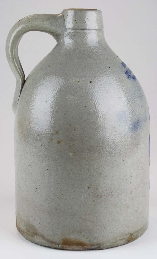 late 19th c New York Stoneware Co jug - 4