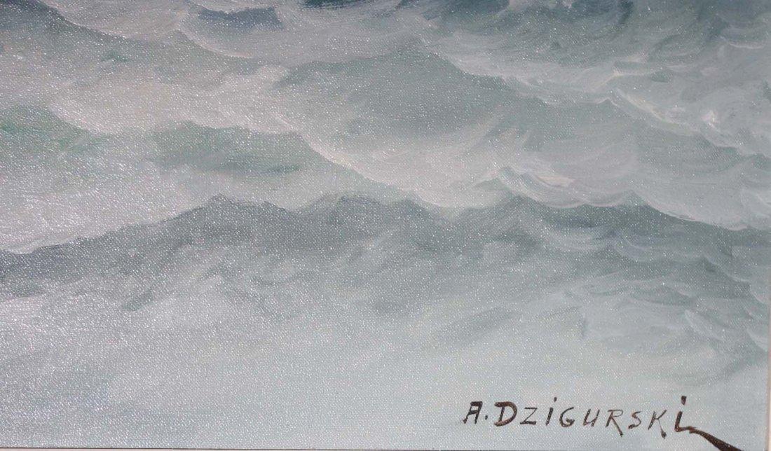 Alexander Dzigurski (American 1911-1995) Seascape - 3
