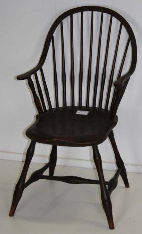 18th c Rhode Island Windsor Chair