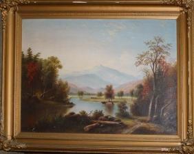 William Spreat (English 19th c) Pastoral landscape
