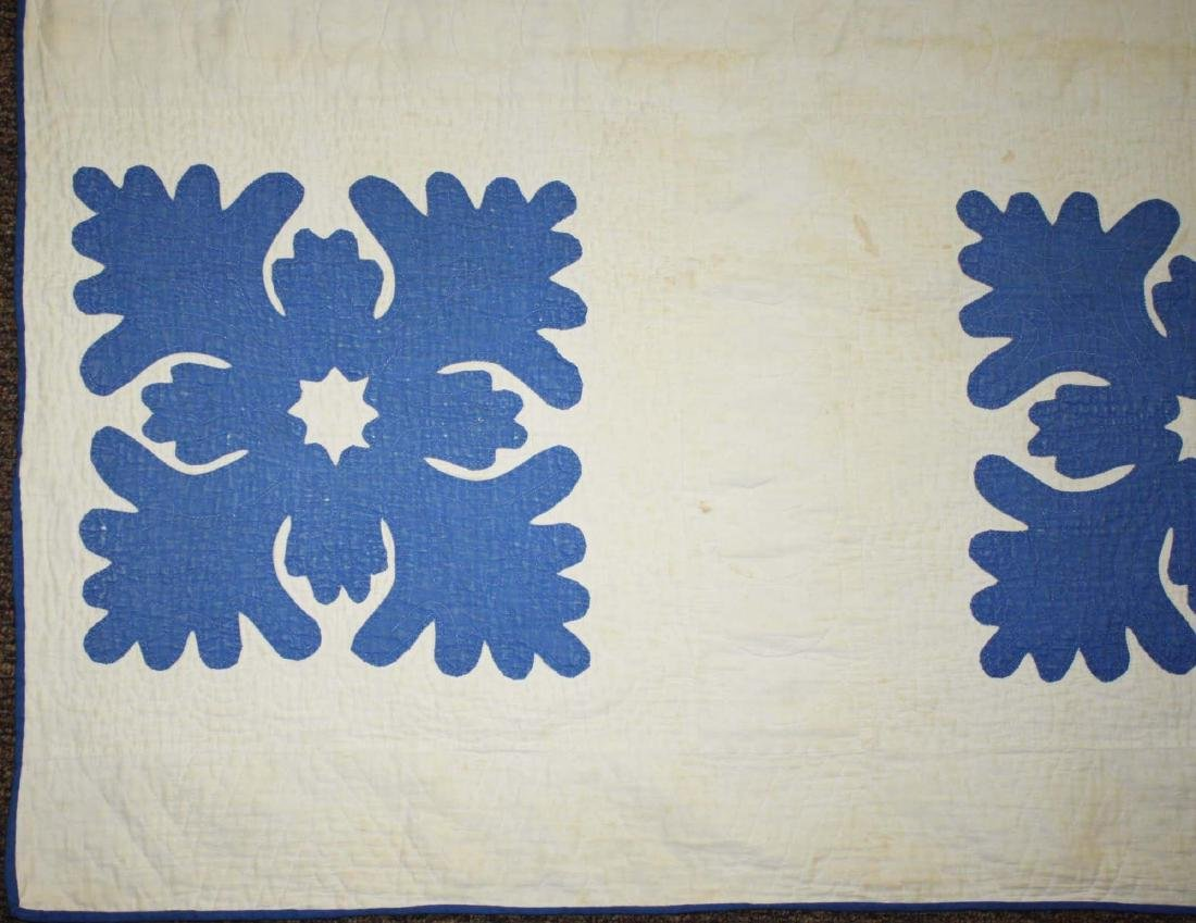 late 19th c applique quilt - 2