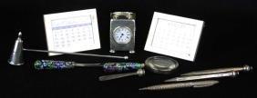 10 pcs sterling silver  desk accessories