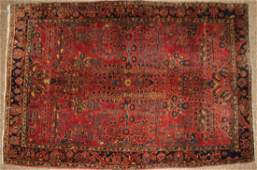 early mid 20th c Sarouk area rug
