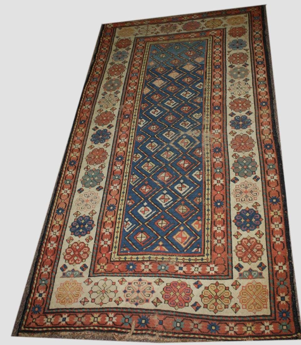late 19th- early 20th c Persian area rug/ runner