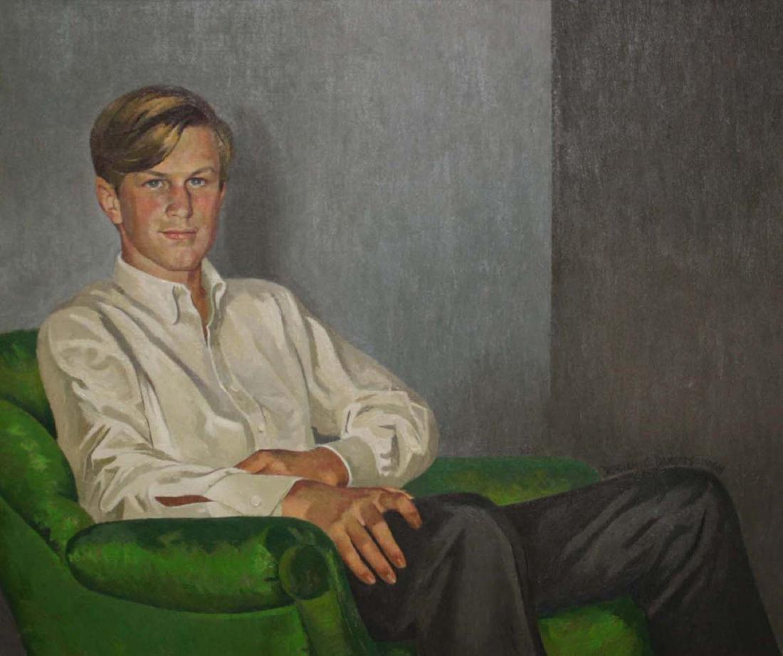 Benham C. Dangers (20th C) Portrait of Handsome young